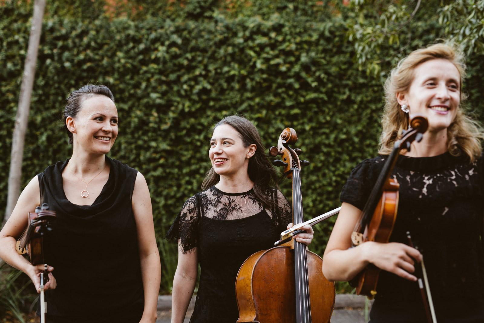 Ruby Strings - Elegant live string quartet in Melbourne